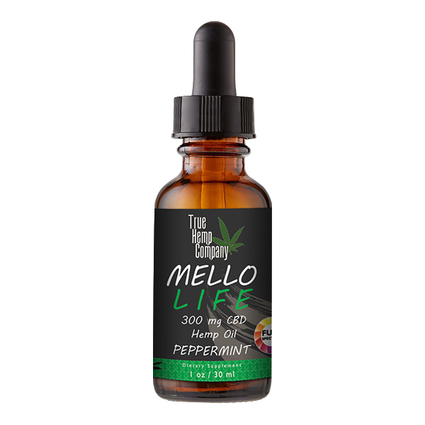 THC Full Spectrum CBD Oil 30 mg per serving Peppermint