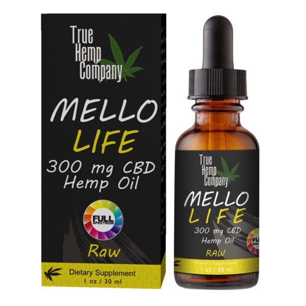 THC Full Spectrum CBD Hemp Oil 30 mg per serving Raw 1 ounce